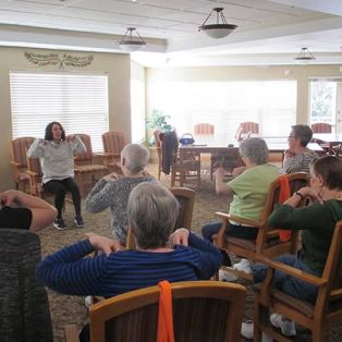 Pullman Place Group Exercise
