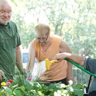 Angels on Main - Residents Gardening
