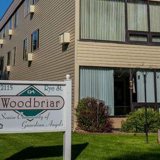 Woodbriar Senior Living Facility Sign