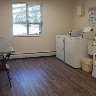 Pine Cone Manor Laundry Room
