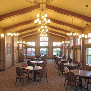 Engel Haus Senior Living Dining Room